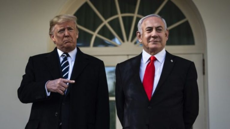 "Trump Confirms U.S. Is Israel's ""Protector"""