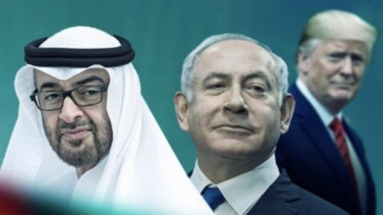 "Israel and the Emirates sign the ""Abraham Accords"""