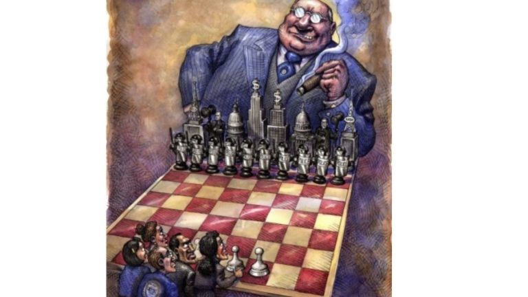 The Corporate Dictatorship of the Very Rich