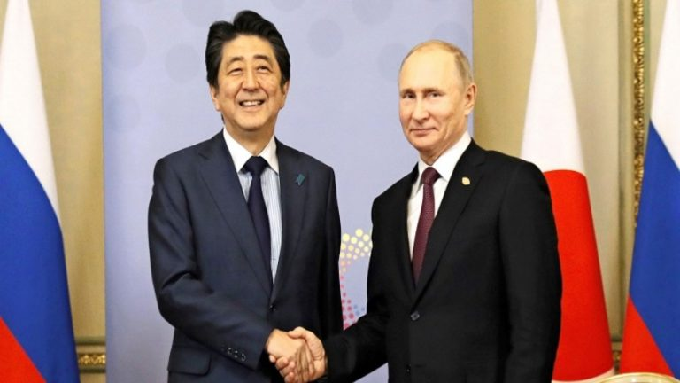 The US Is Trying to Ruin Shinzo Abe's Legacy Of Rapprochement with Russia