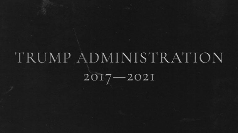 The Trump Administration 2017-2021 – An Obituary