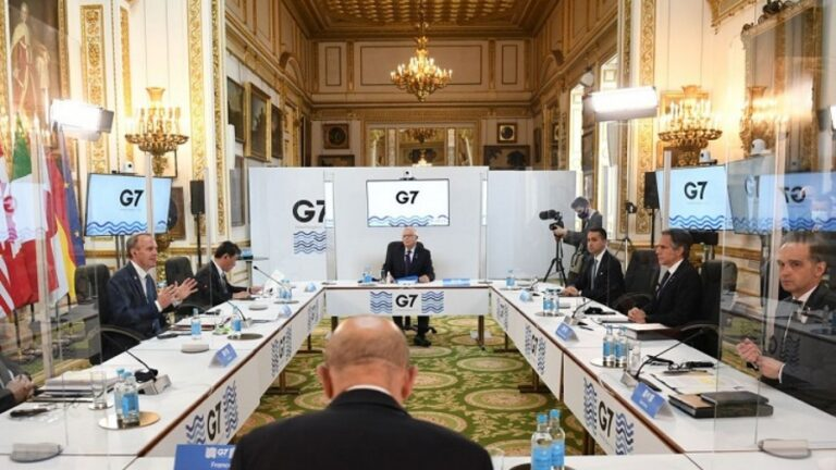 On the Results of the G7 Ministerial Meeting