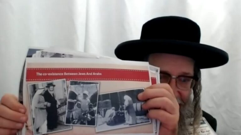 Meet the Outspoken Rabbi Who Says Israel is a Monster That Should Be Removed from the Map
