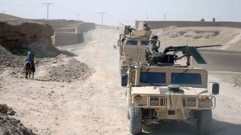 US Troops Trying to Break Through from Afghanistan into Central Asia
