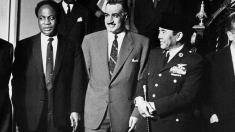 On Nasser's Fight for Arabic Independence and a Free Palestine