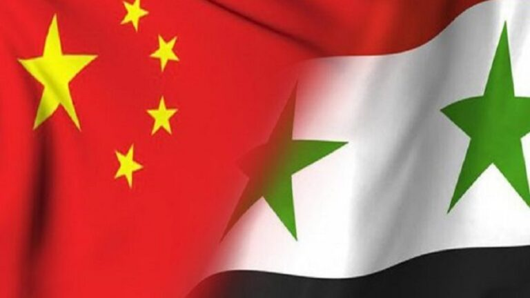 China's Promise of Full Support to Syria Might Be a Geopolitical Game-Changer