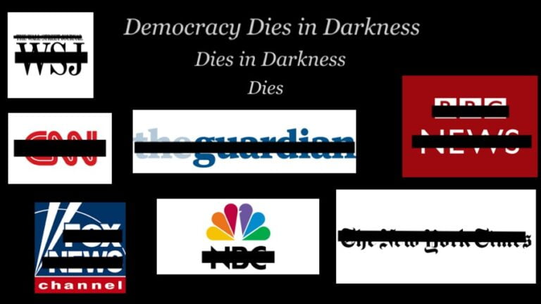 The Horrifying Rise of Total Mass Media Blackouts on Inconvenient News Stories