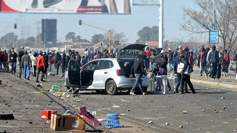 Riots in South Africa: Causes and Consequences