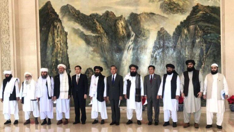 The Taliban go to Tianjin
