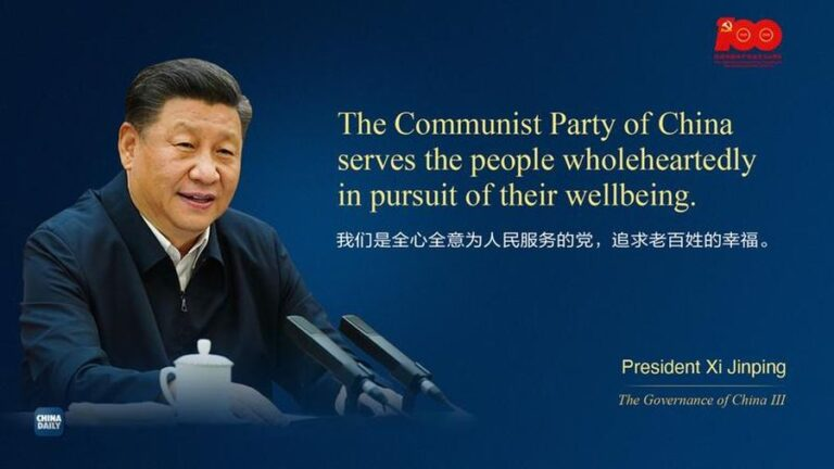 Chinese President Xi Is the Pride of the Communist Party of China