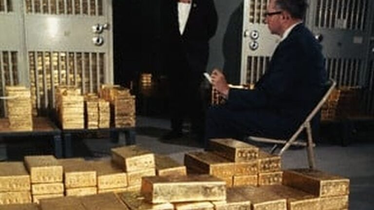 Afghanistan's Gold at the NY Fed: 1,731 Old Bars Held Since 1939