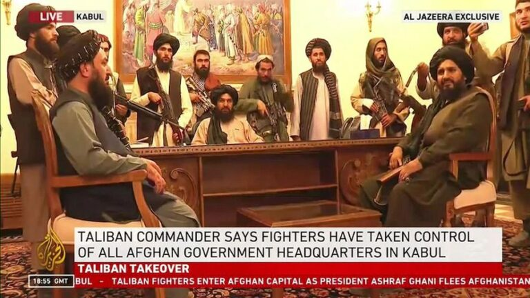 The Taliban's Afghan Takeover Exposes America's Two Decades Of Lies