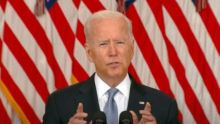 Biden Forfeits His Afghan Victory by Defending His Deep State Advisors