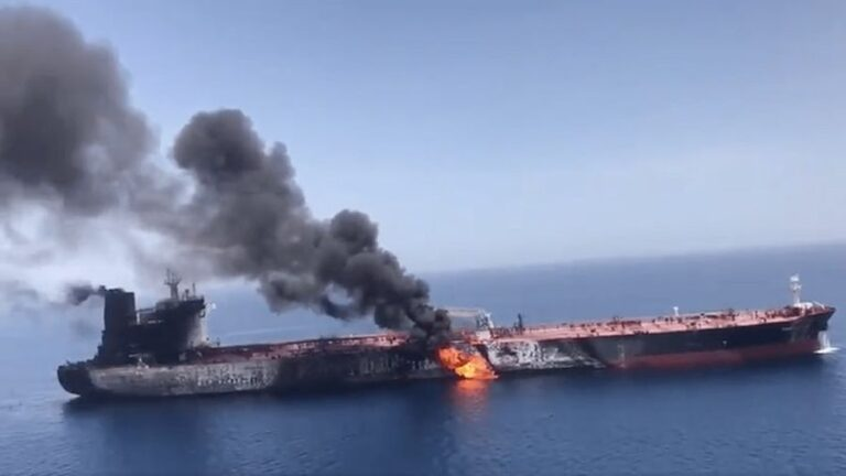 Tensions Rise in the Gulf of Oman