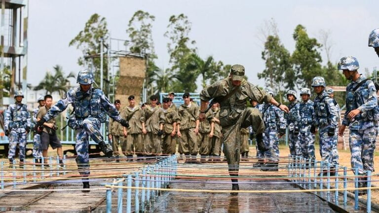 A Strengthening Brotherhood between the Armies of China and Russia