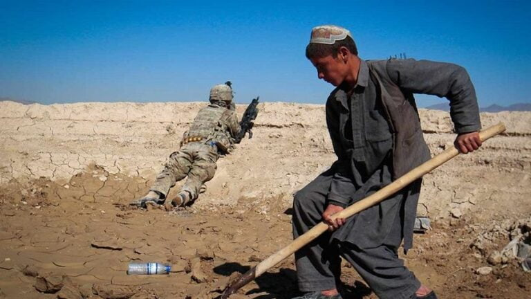 Who Will Get Their Hands on Afghanistan's Natural Resources?