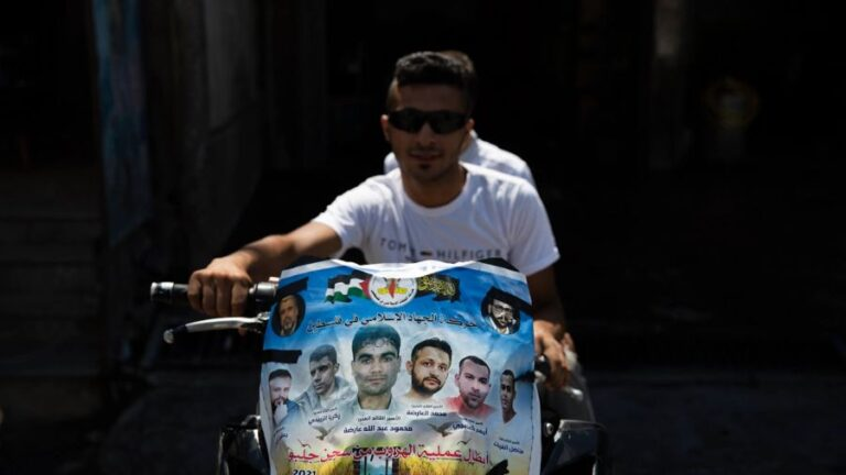 Why Israel's Gilboa Prison Break has Palestanians Celebrating