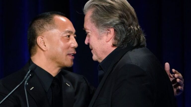 Thick as Thieves… Steve Bannon and Fugitive Chinese Billionaire Scam Trump Base While Beating War Drums on China