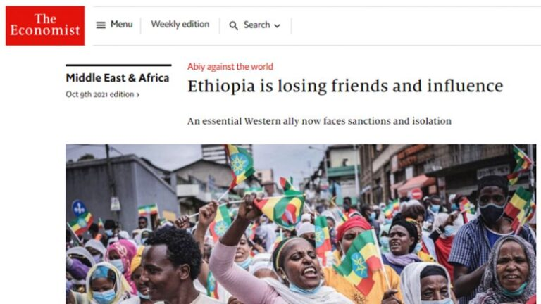 The Economist Is Lying: Ethiopia Is Gaining Friends and Influence, Not Losing Them